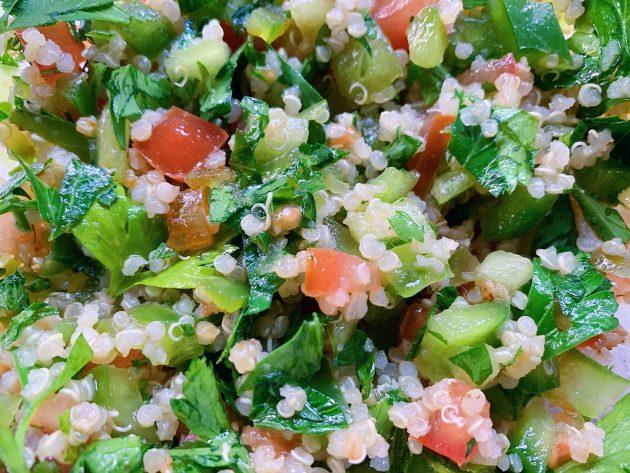 Tabulé de quinoa y verduras
