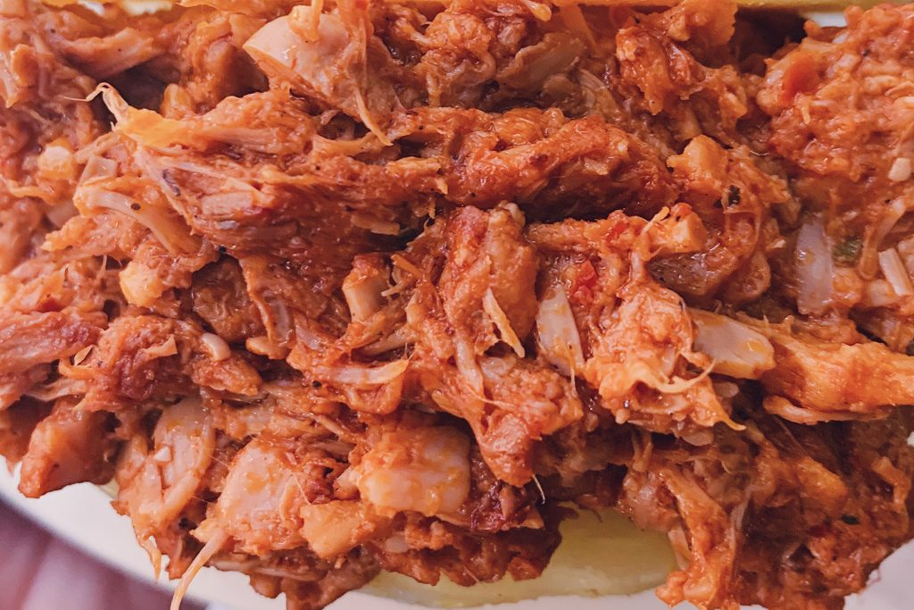 Pulled pork vegetal
